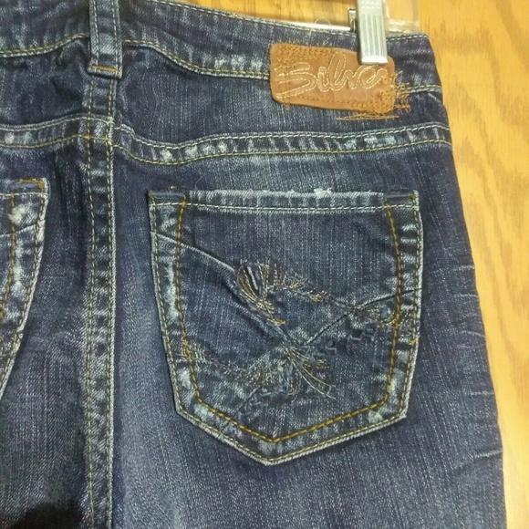 9a98527b081 Silver Jeans Jeans   28 Suki Flare Distressed Nice   Poshmark